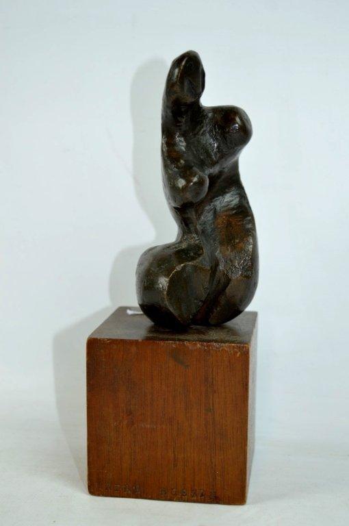 "Endre Boszin: ""Tribute to Henry Moore"" Bronze"