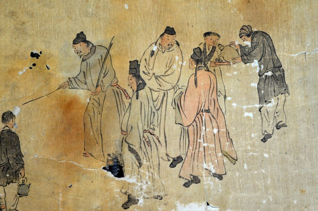Ming or Earlier Chinese Ink & Color Painting - 2