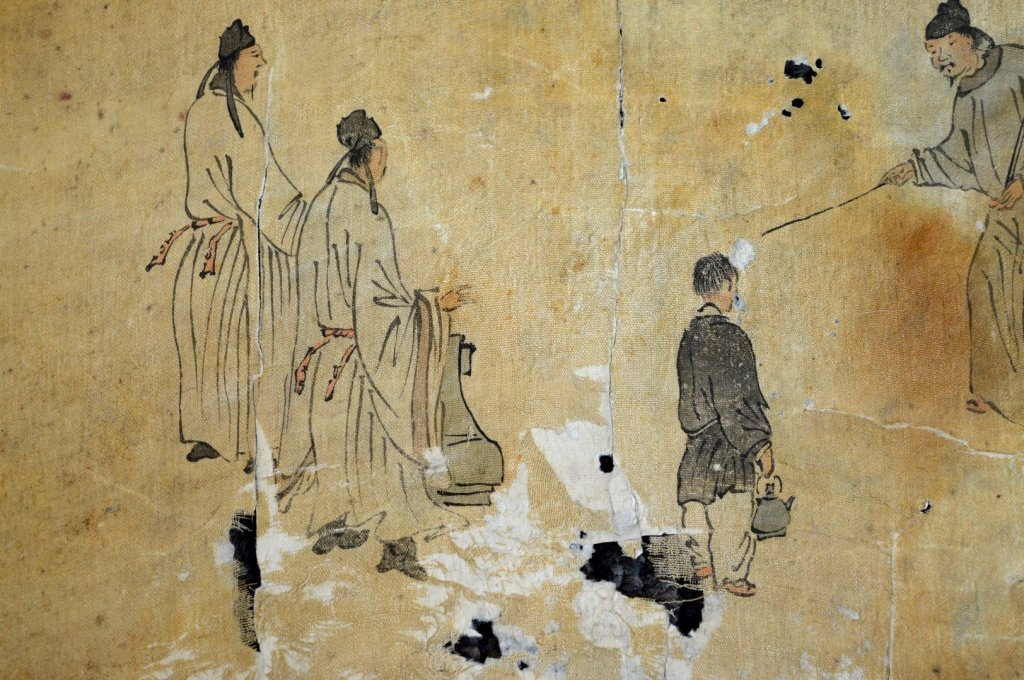 Ming or Earlier Chinese Ink & Color Painting - 3