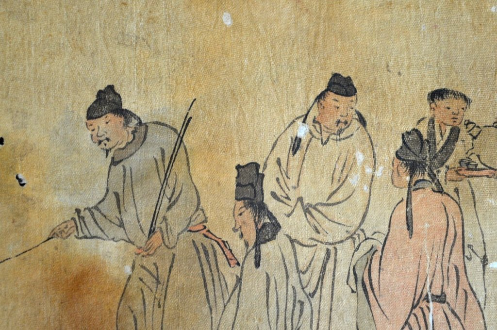 Ming or Earlier Chinese Ink & Color Painting - 6