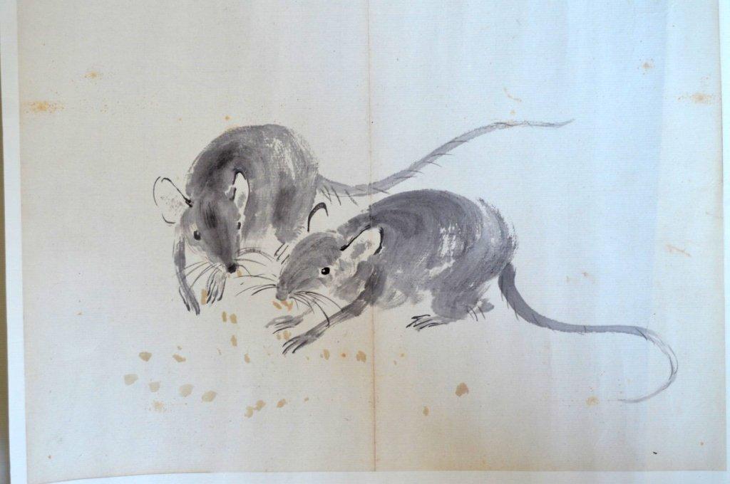 Xu Beihong; 8 Chinese Prints of Zodiac Animals - 6