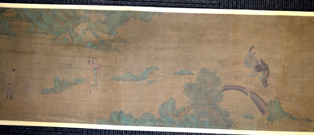 Long Chinese Historical Handscroll on Silk - 6