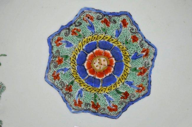 Fine Kangxi Famille Verte Chinese Porcelain Plate - 2