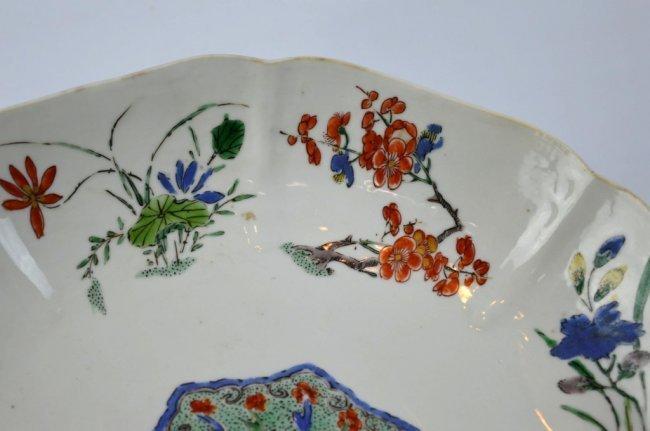 Fine Kangxi Famille Verte Chinese Porcelain Plate - 4