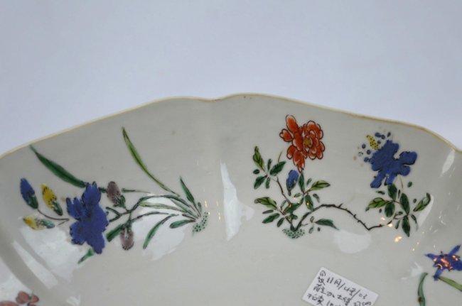 Fine Kangxi Famille Verte Chinese Porcelain Plate - 5