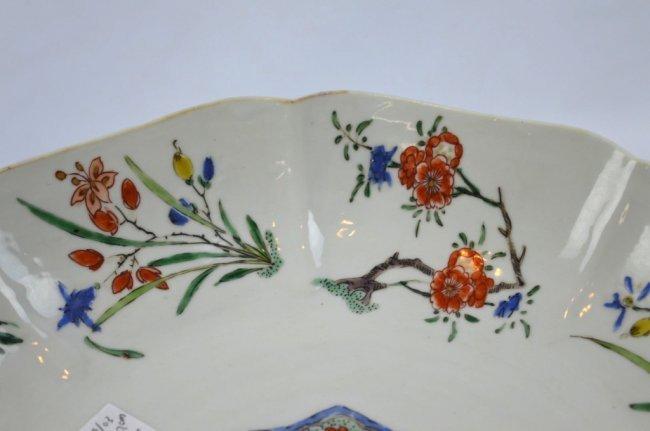 Fine Kangxi Famille Verte Chinese Porcelain Plate - 6