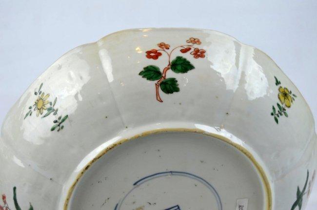 Fine Kangxi Famille Verte Chinese Porcelain Plate - 8