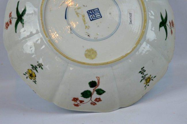 Fine Kangxi Famille Verte Chinese Porcelain Plate - 9