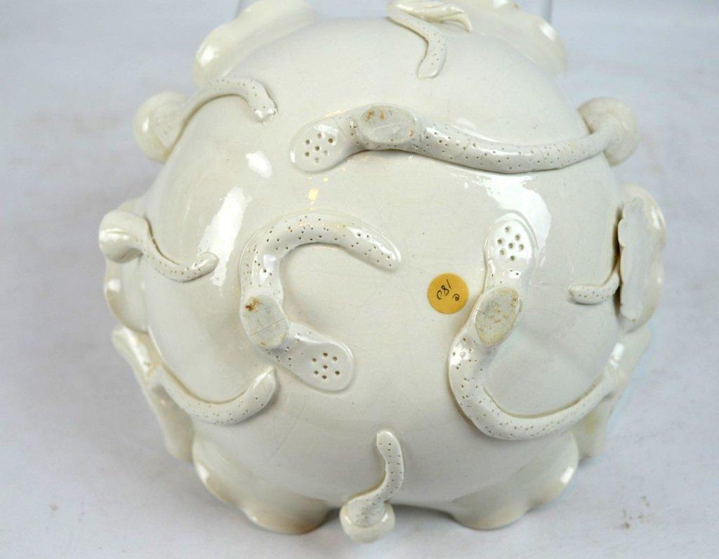 Chinese Blanc de Chine Lotus Leaf Bowl - 6