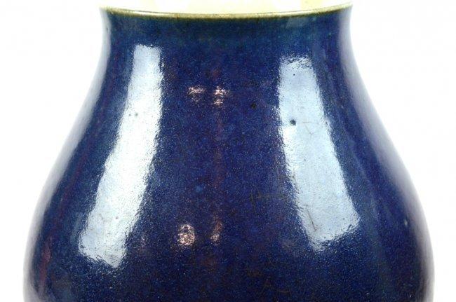 Good 18th/19th C Chinese Cobalt Porcelain Vase - 2