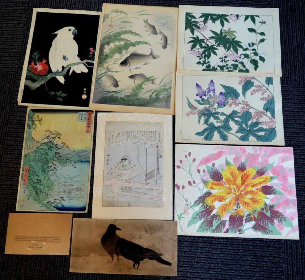 8 - Antique Japanese Woodblock Prints