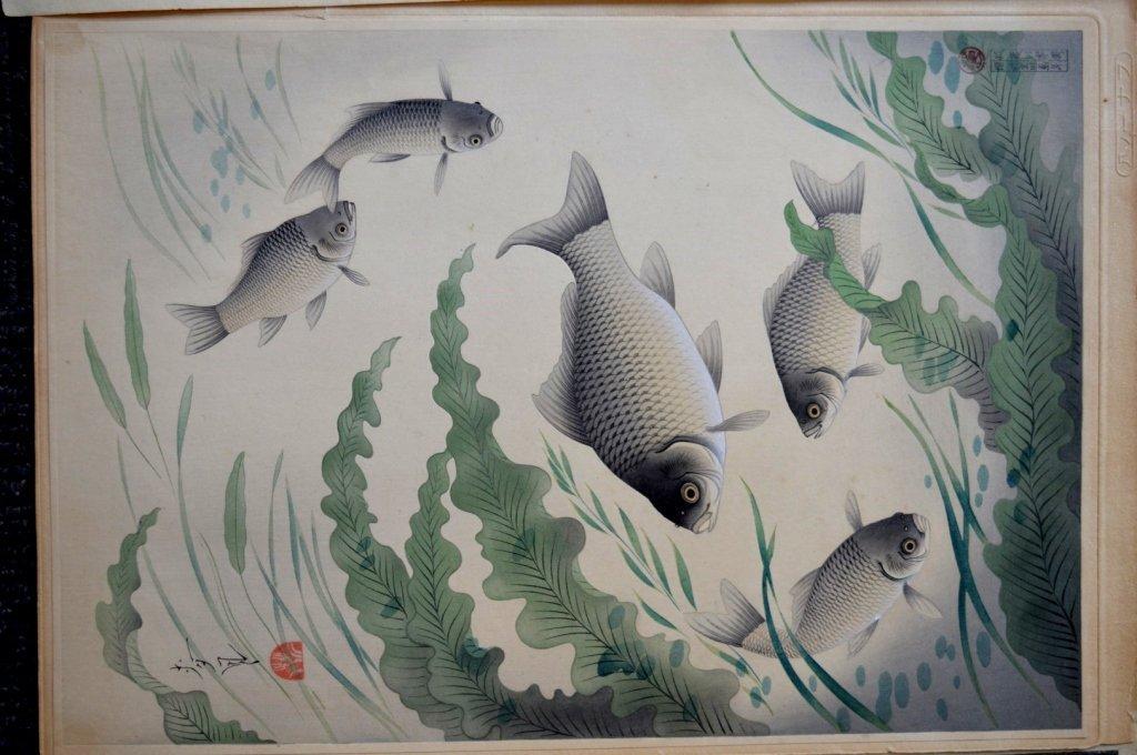 8 - Antique Japanese Woodblock Prints - 3