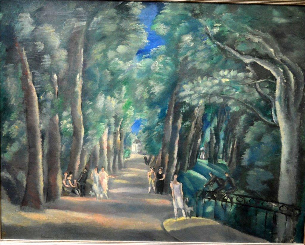 Hermine David; Oil on Canvas, Georges Lurcy Estate