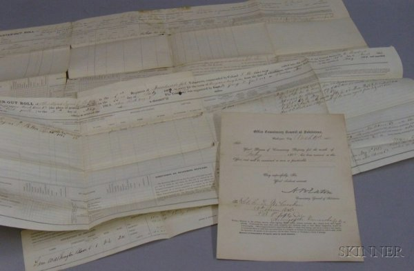 6: Group of Union Army Civil War Documents, a May 6, 18