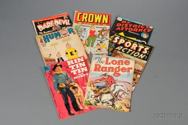 11: Collection of Twenty-nine Silver Age Comic Books.
