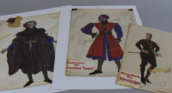 13: Nineteen Unframed Broadway Costume Designs, 1920s-6