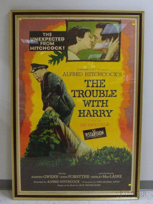 17: The Trouble with Harry, 1955, Paramount, U.S., 40 x