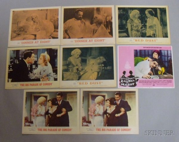 18: Eight Assorted Jean Harlow and Related Re-release L