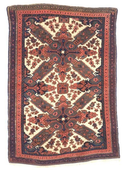 503: Seichour Rug, Northeast Caucasus, 19th century, 5
