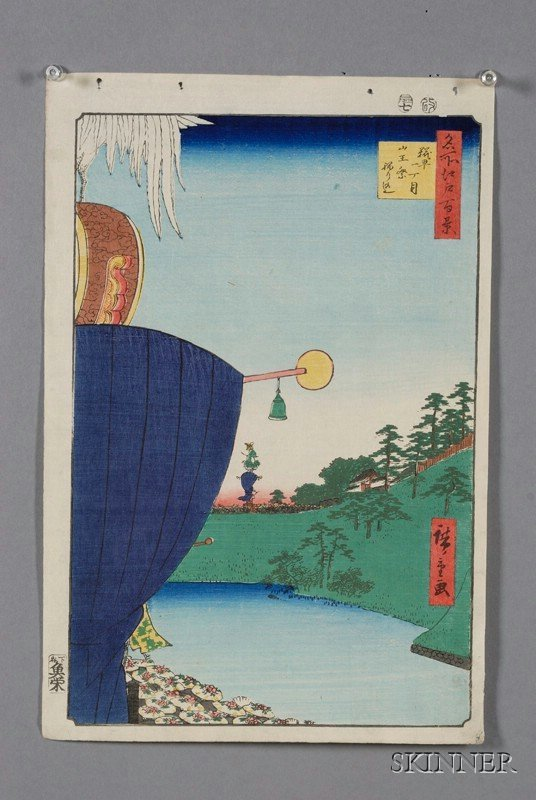 3: Hiroshige: Sanno-Festival Procession at First Street