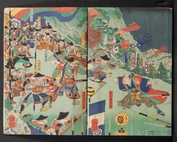 10: Album of Japanese Woodblock Prints, thirty-six shee