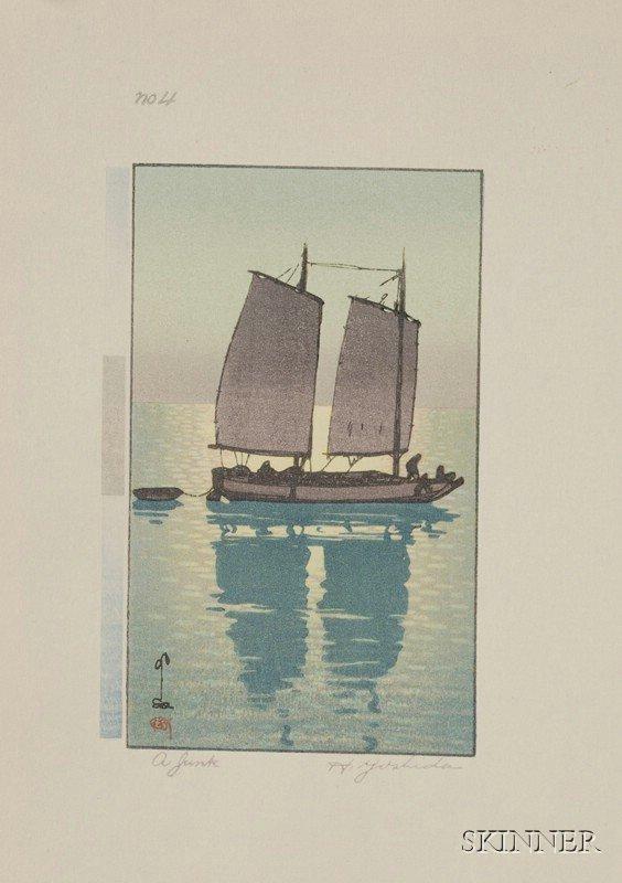 19: Yoshida Hiroshi: A Junk, a series of five small pri