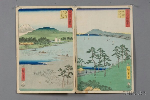 90: Fifty Japanese Woodblock Prints and Other Works of