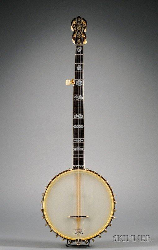 13: American Banjo, Vega Company, Boston, c. 1921, Mode