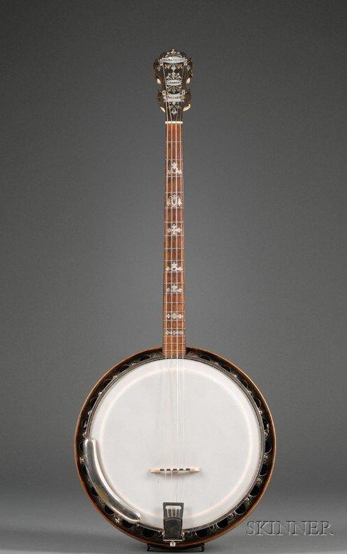 15: American Tenor Banjo, William L. Lange Company, New