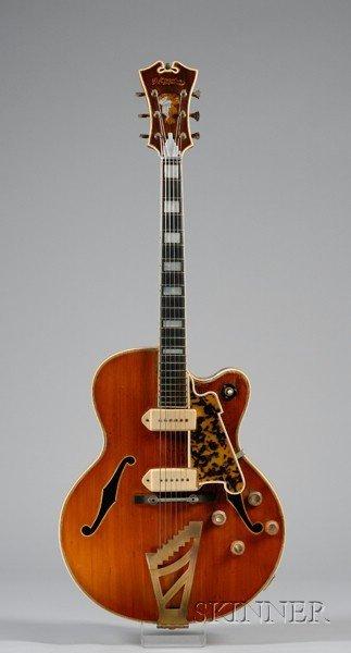 19: American Electric Guitar, John D'Angelico, New York