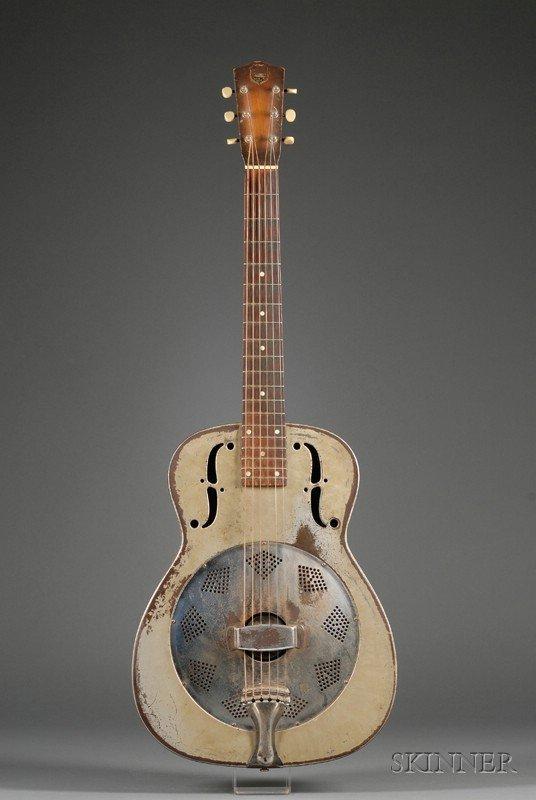 24: American Resonator Guitar, National String Instrume