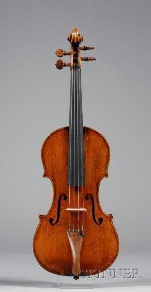 71: Italian Violin, Giuseppe Baldantoni, Ancona, c. 183