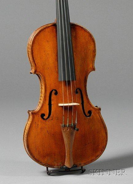 71: Italian Violin, Giuseppe Baldantoni, Ancona, c. 183 - 4