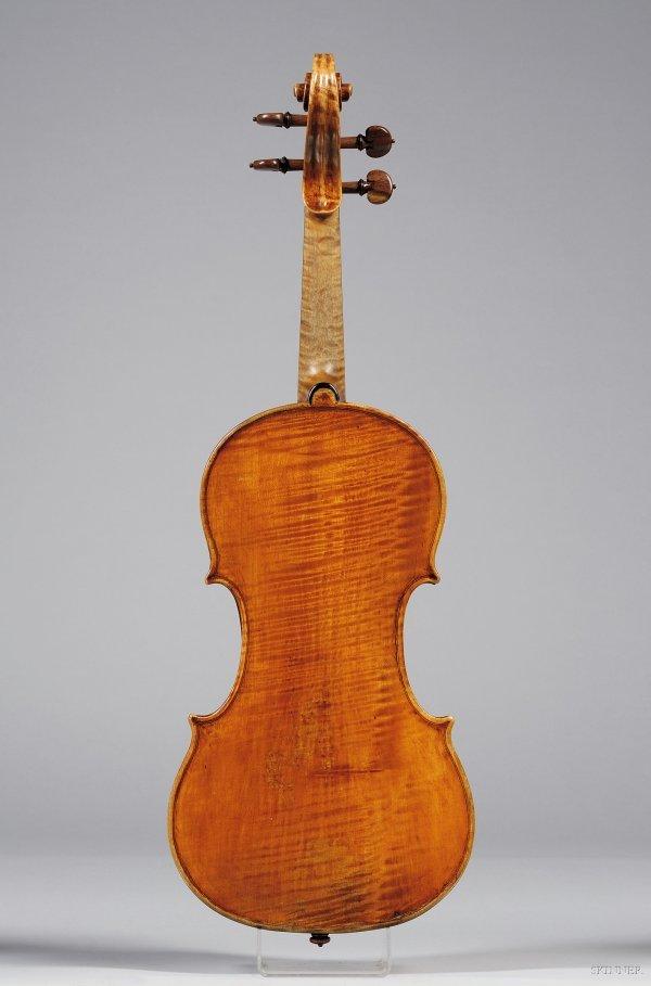 71: Italian Violin, Giuseppe Baldantoni, Ancona, c. 183 - 5