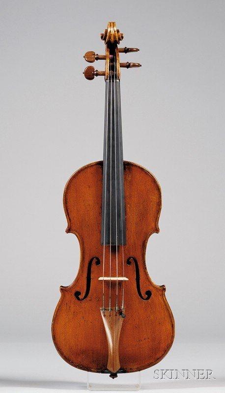 71: Italian Violin, Giuseppe Baldantoni, Ancona, c. 183 - 6