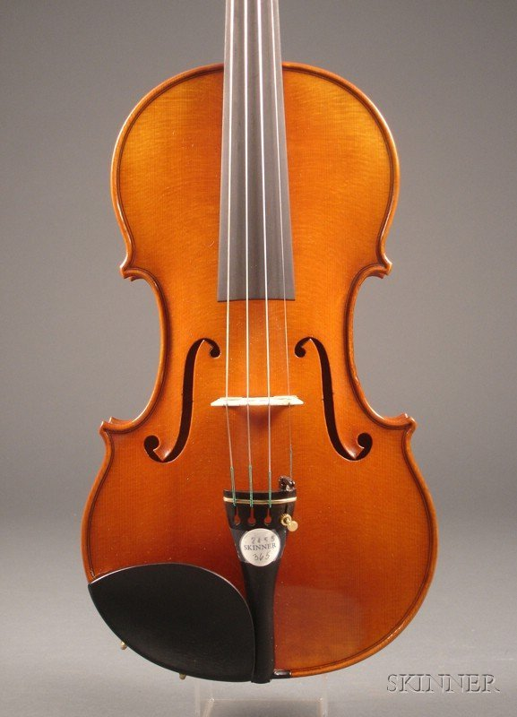 365: Modern German Violin, Joseph Kantuscher, 1998, lab