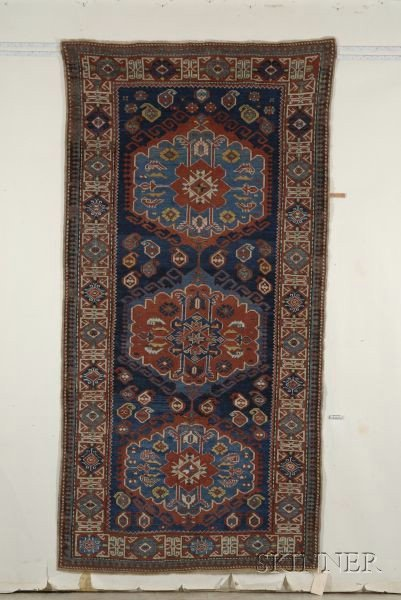 5: Kuba Long Rug, Northeast Caucasus, late 19th century