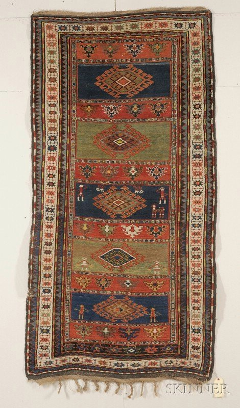 6: Karabagh Rug, South Caucasus, last quarter 19th cent