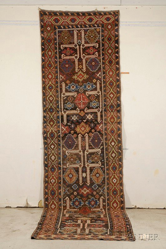 10: Shirvan Long Rug, East Caucasus, last quarter 19th