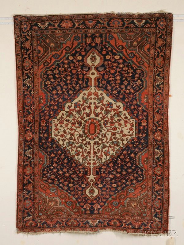 11: Malayer Rug, Northwest Persia, late 19th/early 20th