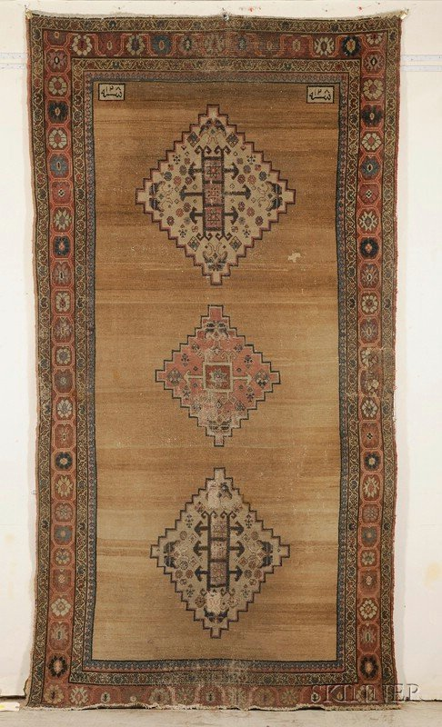 14: Northwest Persian Rug, second half 19th century, (a
