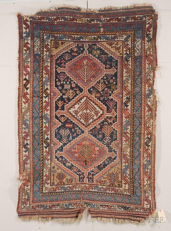 16: Qashqai Rug, Southwest Persia, last quarter 19th ce