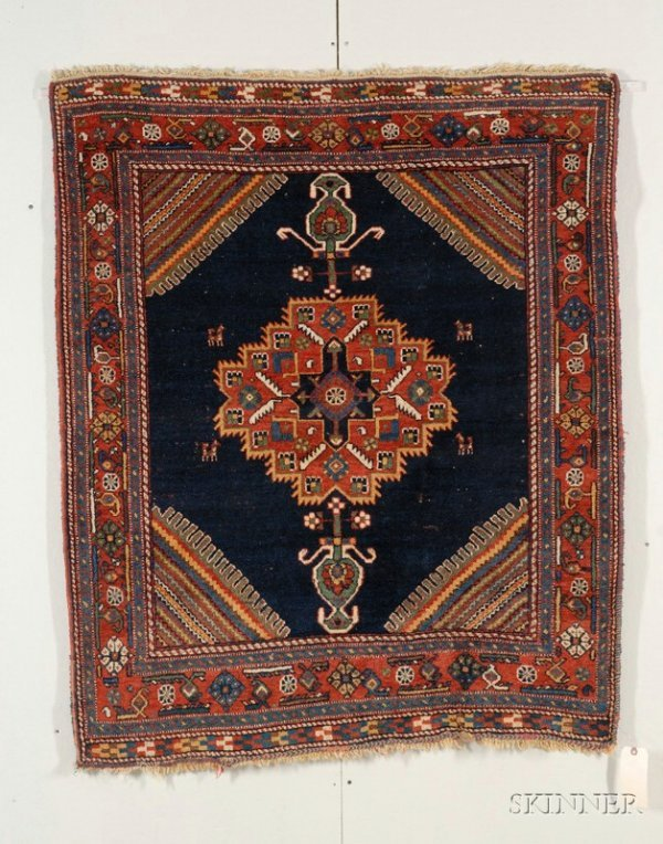 17: Afshar Rug, South Persia, early 20th century, (mino