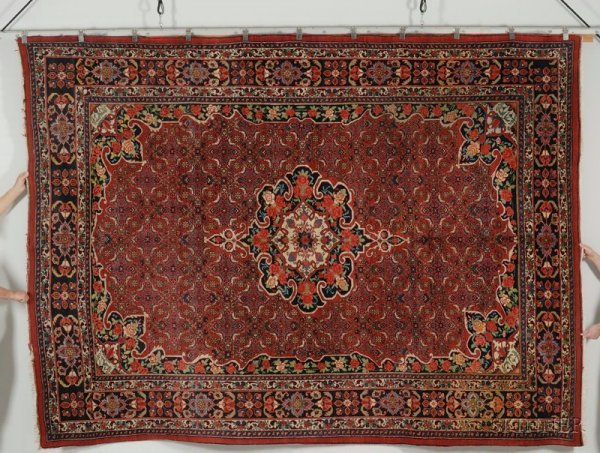 22: Bidjar Carpet, Northwest Persia, second quarter 20t