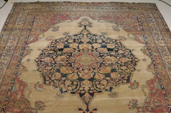 24: Kerman Carpet, Southeast Persia, second half 19th c