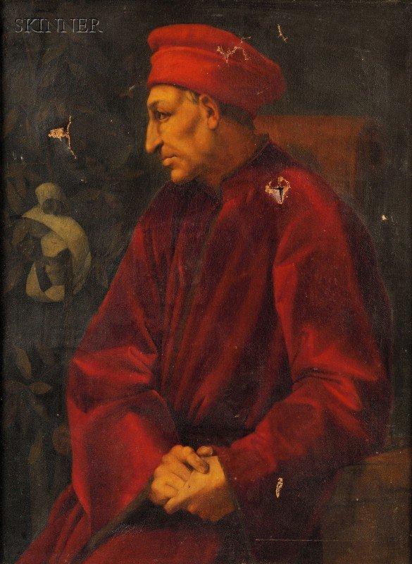 3: After Pontormo (Jacopo Carucci) (Italian, 1494-1556)