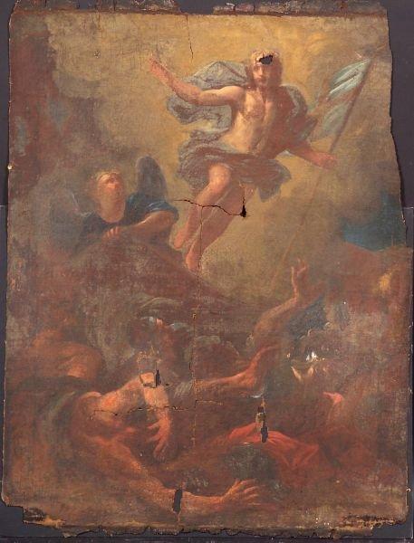7: Italian School, 18th Century The Resurrection of Chr