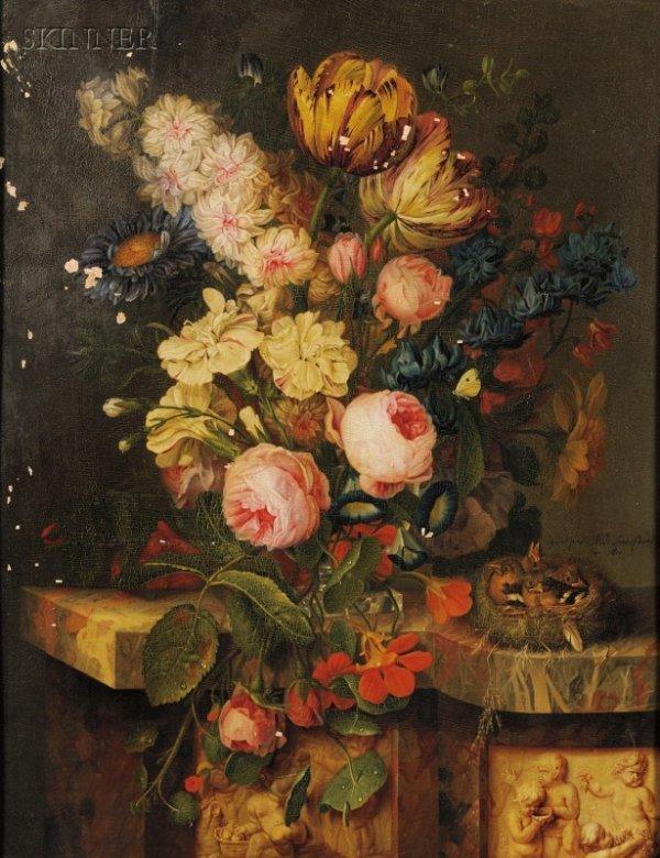 8A: Michel Joseph Speeckaert (Belgian, 1748-1838) Bouqu