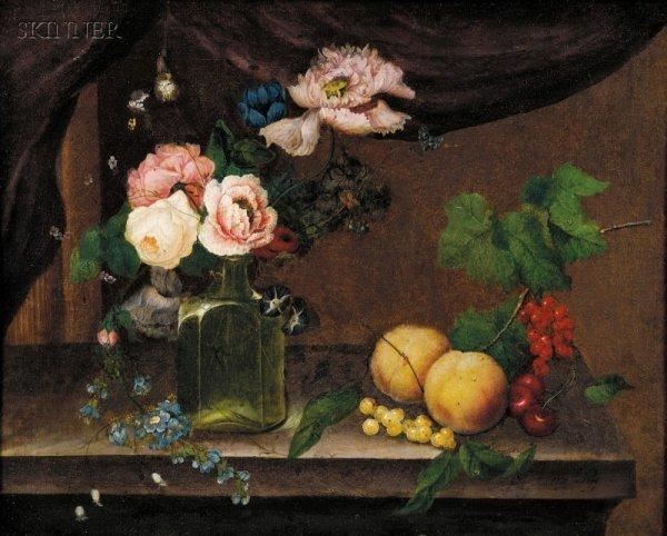 10: William Quaker Pegg (British, 1775-1851) Still Life