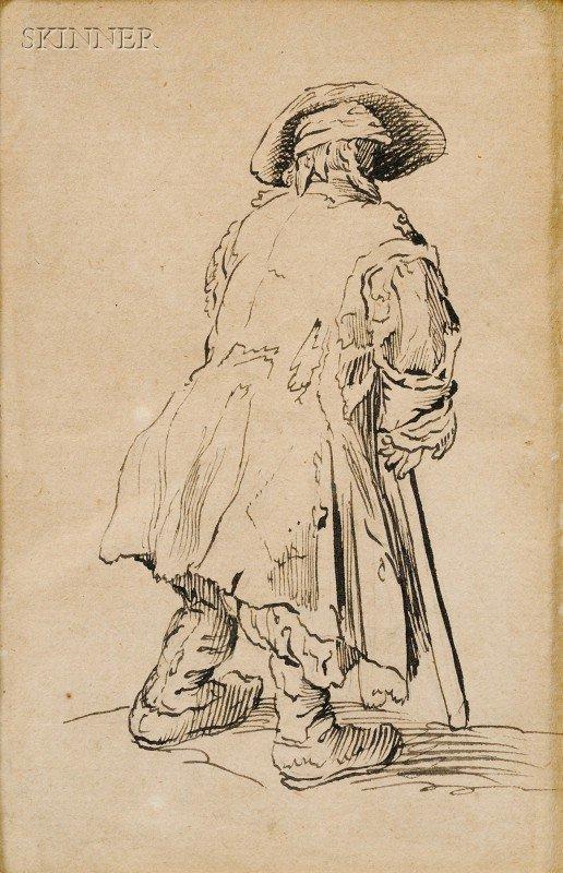 13: After Jacques Callot (French, 1592-1635) Le vieux m
